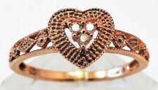 Ring Diamond Rose Gold Vintage & Antique Jewellery