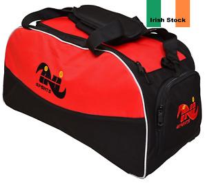 INI Gym Sports Kit Bag Holdall Backpack Duffel Fitness Training Travel Rucksack