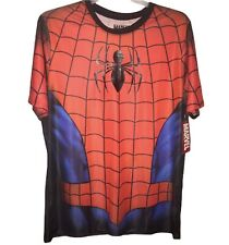 Marvel Spider-Man 2XL Polyester And Spandex T-Shirt NWT