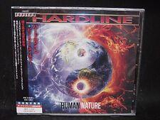 HARDLINE Human Nature + 1 JAPAN CD Crush 40 Axel Rudi Pell Lionville Laneslide