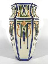 KELLER & GUERIN St.Clement / Luneville Jugendstil Art Nouveau Keramik Vase