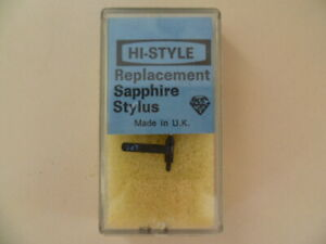 REPLACEMENT STYLUS FOR ACOS GP104  SAPPHIRE TIP       (NEW OLD STOCK)