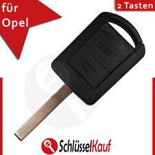 Opel Schlüssel Gehäuse Fernbedienung HU100 Agila Astra Combo Corsa Meriva Neu