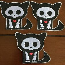 """Bundle Deal: Skelanimals-Iron-on Embroidered Patch Approx 3""""x3.5"""""""
