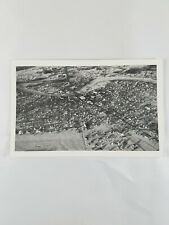 Vintage Collectible Aerial View Fairbanks Alaska Post Card Divided Back 1940s