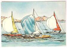 Cartolina Illustrata XVII Olimpiade Roma 1960 - Vela