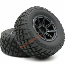 2pcs RC 1/10 short course SC Truck Buggy tires Tyres & 2.2 / 3.0 wheels Hex 12mm