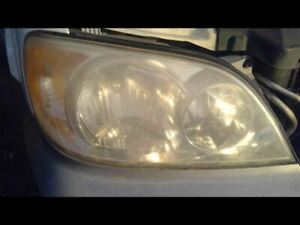 Passenger Right Headlight Fits 02-05 SEDONA 136300