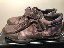 just cavalli mens brown shoes size 10 us