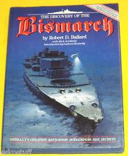 Discovery of the Bismarck 1990 WW II Robert D. Ballard Great PhotographNice See!