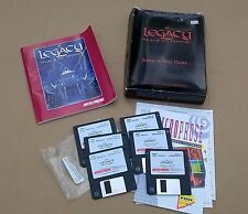 The Legacy Realm of Terror 3.5 Disks Radio Shack Collectors Edition Squished Box