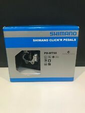 Shimano PD-MT50 Click'R Clipless MTB/Trail Pedals - Black - SM-SH56 Cleats