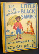The Story of Little Black Sambo 1933 Animated / Pop-up Edition Kurt Wiese Illus.