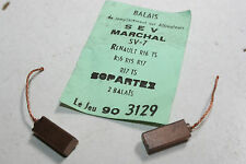 CHARBONS SVX 7 POUR ALTERNATEUR 12V SEV MARCHAL...RENAULT R16 R15 R17 R17 TS