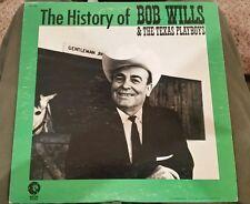 1972 History of Bob Wills& Texas Playboys Album,Record
