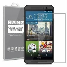 [2 Pack] HTC ONE M9 Tempered Glass Premium HD Screen Protector - Clear