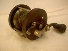 Sea Bright Fishing Reel Antique Old Abbey & Imbrie Rare 250 yds early1900's Bake