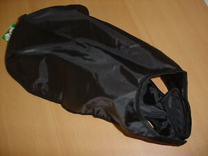Hundemantel, Regenmantel, ungefüttert, 85cm,schwarz