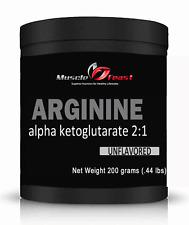 L-Arginine AKG 2:1-200 grams (.67lbs)