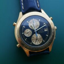 RELOJ SEIKO 7T42-7A5A OLYMPIC CHRONOGRAPH VINTAGE WATCH