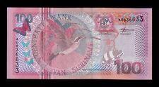 B-D-M Surinam Suriname 100 Gulden 2000 Pick 149 SC UNC