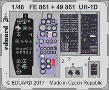 Eduard PE 49861 1/48 Bell UH-1D Huey interior details Kitty Hawk C