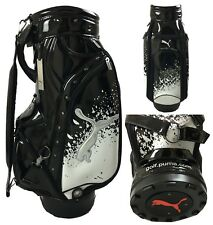 Puma Golf LTD Edition Paint Splatter Tour Staff Bag - JAPAN EDITION - RARE