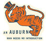 AUBURN  University  - TIGERS  Vintage Looking   Travel Decal  Sticker  War Eagle