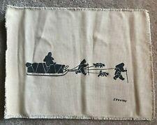 Inuit Eskimo Victor Ekootak 1916 - 1965 Holman Screenprint