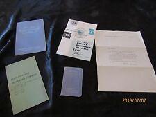 Lot Southwestern Bell Ephemera 1960's-Blue Book Telephone Numbers-Long Distance