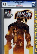 Iron and the Maiden #0 (CGC 9.2) Francis Manipulate & Joel Gomez Variant Cover