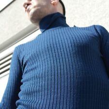 Pullover Rollkragenpullover Strick 70er TRUE VINTAGE 70s sweater turtleneck S/50
