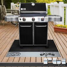 "San Antonio Spurs NBA Basketball Vinyl BBQ Patio Outdoor Grill Mat Rug 26"" x 42"""