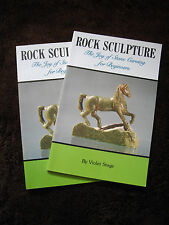 1988 Rock Sculpture - The Joy of Stone Carving for Beginners [ Lapidary Rocks