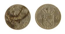 s1170_266) NETHERLANDS INDIES - INDIE OLANDESI 1/10 GULDEN  AG 1858
