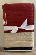 NEW Pottery Barn Teen MLB Quilted STANDARD Sham AMERICAN LEAGUE
