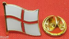 St George Flag England Lapel Hat Cap Tie Pin Badge Brooch