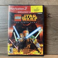 LEGO Star Wars The Video Game (PlayStation 2, 2005, PS2) CIB Complete in Box