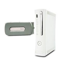 Xbox 360 Console de Jaspe 12,1A HDMI Fat en Blanc #3 + 20 Gb Disque Dur sans