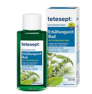 3x Tetesept cold season - eucalyptus thyme health bath 2x125ml from Germany
