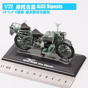 1/22  MOTO GUZZI ALCE Biposto dirt bike Motocross Diecast model Motorcycle toy