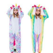 Rainbow Star Unicorn Sleepwear Kigurumi Pajamas Animal Cosplay Costume Onesie3