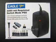 2000MA/2A 3V/4.5V/5V/6V/7.5V/9V/12V AC/DC POWER ADAPTOR/SUPPLY/CHARGER/PSU