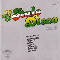 Best of Italo Disco 12 (1988) Coo Coo, Brian Ice, Aleph, K.B. Caps.. [CD]