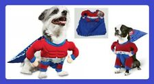 "PetCo""Bootique""SuperHero""XS Dog Cat Costume Halloween Red Blue Silver Cape NEW"