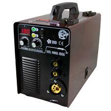 MIG MAG / MMA 180 IGBT Schweißgerät 230V Inverter Schweissgerät mit viel Zubehör