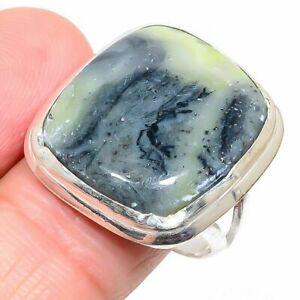 Imperial Opal Gemstone Handi craft Jewelry Ring Size 8  iii36