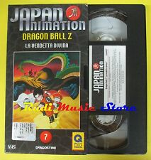 film VHS cartonata JAPAN ANIMATION 7 dragon ball z la vendetta divina(F44)no dvd