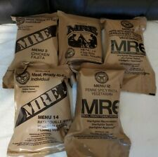 Military Food Rations Individual MREs Meals Ready to Eat Choose Menu