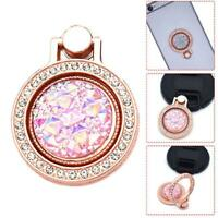 Finger Ring Grip Cell Phone Holder Stand Attachment Rotating Diamond NEW Q7A9